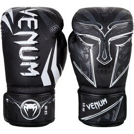 VENUM ボクシンググローブ GLADIATOR 3.0 BOXING GLOVES (ブラック×ホワイト) //スパーリンググローブ キックボクシング ボクササイズ フィットネス 送料無料