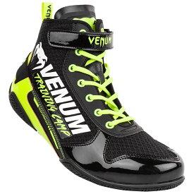 VENUM ボクシングシューズ GIANT LOW VTC 2 EDITION BOXING SHOES (ブラック×ネオンイエロー) //リングシューズ ボクシング ワークアウト 送料無料