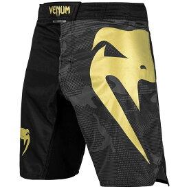 VENUM ファイトショーツ Light 3.0 Fightshorts (ゴールド×ブラック) //ハーフパンツ トレーニングショーツ スポーツ トレーニング 格闘技 吸汗速乾 送料無料