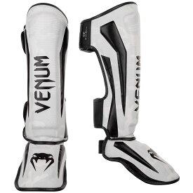 VENUM レッグガード ELITE STANDUP SHIN GUARDS (ホワイト×カモ) //レガース キックボクシング 格闘技 防具 プロテクター 送料無料