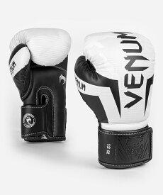 VENUM ボクシンググローブ ELITE BOXING GLOVES (ホワイト×カモ) //スパーリンググローブ ボクシング キックボクシング フィットネス 送料無料
