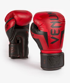VENUM ボクシンググローブ ELITE BOXING GLOVES (レッド×カモ) //スパーリンググローブ ボクシング キックボクシング フィットネス 送料無料