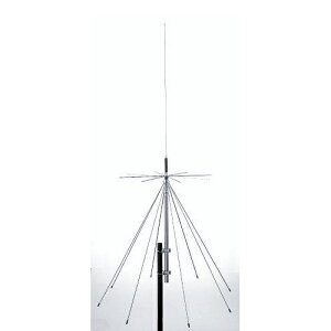 【お取り寄せ】D3000N 第一電波工業(ダイヤモンド) 25〜3000MHz 広帯域固定局用 スーパーディスコーンアンテナ D-3000N