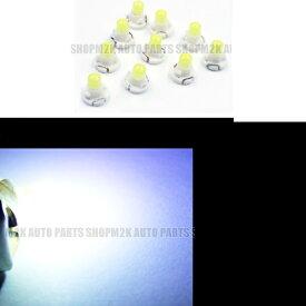 LED T4.2 T3 エアコン メーター スイッチ インジゲーター ポジション 球 超拡散 全面発光 COB タイプ ホワイト 白 汎用品 2個 サーフ パジェロ N-ONE イプサム スペイド ヴィッツ シルビア ムーブ インプレッサ エスティマ 送料無料