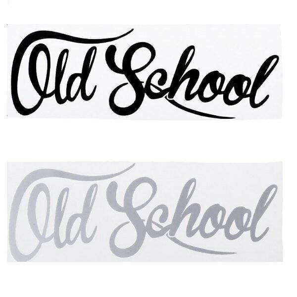 OLD SCHOOL オールドスクール ヘラフラ スタンス ステッカー 1枚 走り屋 JDM usdm 環状 旧車 ネオクラシカル シルビア スカイライン 送料無料