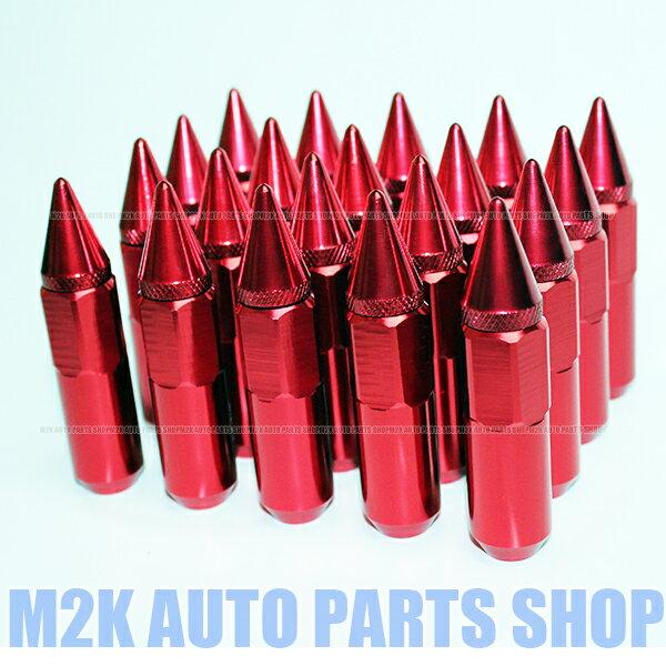色選択可能 スパイク ナット JDM USDM アルミ 60 送料無料 P1.5 P1.25 16個 レッド ブルー パープル ブラック シルバー ゴールド