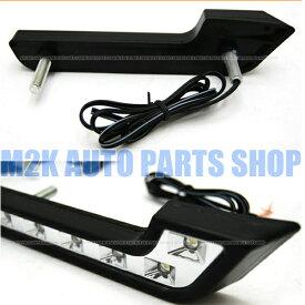 汎用 デイライト 6連 6LED 12v LED マーカー ユーロスタイル W212 風 DayLight 爆輝 高輝度 送料無料
