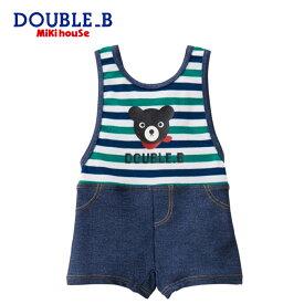 【メール便送料無料】【DOUBLE B ダブルビー】グレコタイプ水着(80cm・90cm)【ミキハウス/水着】