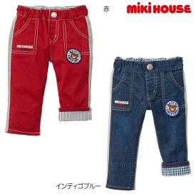 【メール便OK】【MIKIHOUSE ミキハウス】プッチー異素材パンツ(80cm・90cm)
