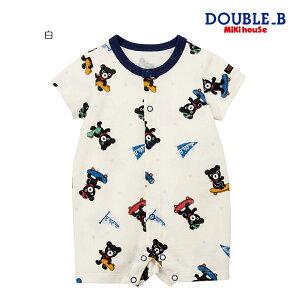 【メール便OK】【DOUBLEBダブルビー】ショートオール(70cm・80cm)ミキハウス