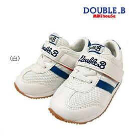 【セール30%OFF】【メール便不可】【DOUBLE B ダブルビー】【箱無し】Bくん☆スポーティーキッズシューズ(15cm-20cm)靴