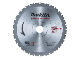 マキタ チップソー A-67424 150mm×32P / 厚物鉄工用