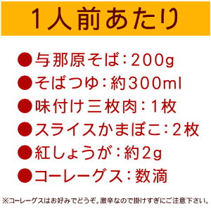 【送料無料】沖縄そばセット100人前(麺、つゆ、三枚肉、かまぼこ、紅しょうが、コーレーグース)