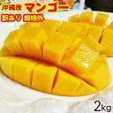 【送料無料】訳あり沖縄産マンゴー 約2kg │アップルマンゴー│