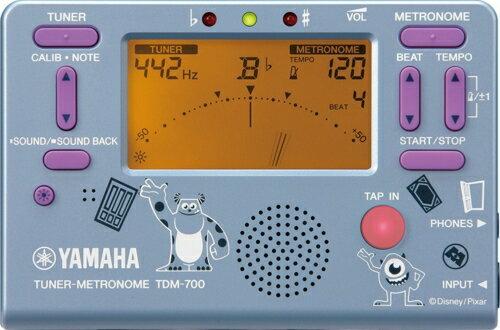 YAMAHA ディズニーチューナーメトロノーム TDM-700DMI