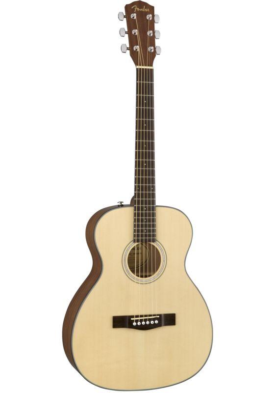 Fender Acoustic Guitars CT-60S Travel Natural WN