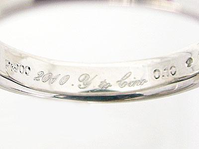 リングの文字刻印(文字入れ)誕生日,記念日の日付,名前,イニシャル