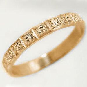 ピンクゴールドk10 スターダスト加工 ペアリング 結婚指輪 ピンキーリングにおすすめ K10pg 指輪