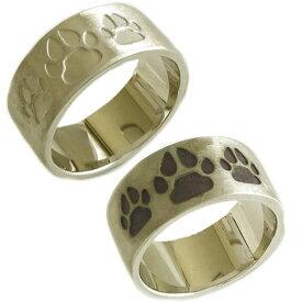 結婚指輪 マリッジリング ペアリング ゴールド K10 ペア2本セット K10yg 指輪 イヌの肉球【送料無料】