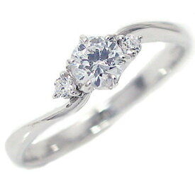 婚約指輪 エンゲージリング ダイヤモンド 0.3ct E VVS1 3EX H&C 鑑定書付 指輪 プラチナ900 脇ダイヤ0.04ct PT900 ダイヤ 指輪【送料無料】