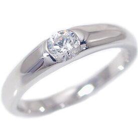 婚約指輪 プラチナ エンゲージリング ダイヤモンド 0.2ct D VVS2 EX H&C 鑑定書付 ダイヤリング Pt900【送料無料】