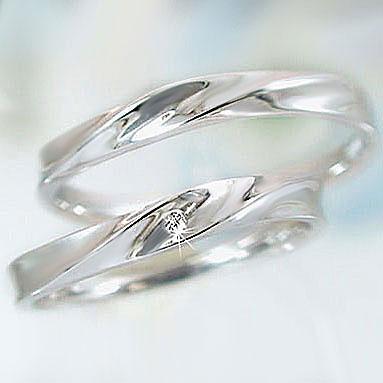 結婚指輪 ペアリング プラチナ900 マリッジリング ダイヤモンド ペア2本セット Pt900 指輪 ダイヤ 0.01ct【送料無料】