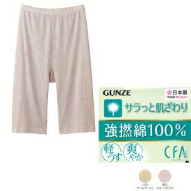 GUNZE(グンゼ)【CFA(シーファー)】NeoCotton 五分丈パンツ綿100%(M・L・LLサイズ)【日本製】