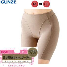 GUNZE(グンゼ) 【キレイラボ(KIREILABO) 肌側綿100% ロングガードル
