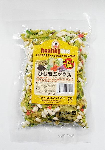 ペットスクエアジャパン ヘルシーライン ひじきミックス 犬用 150g