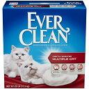 【並行輸入品】 エバークリーン マルチキャット(複数の猫ちゃん用) 猫砂 11.3kg