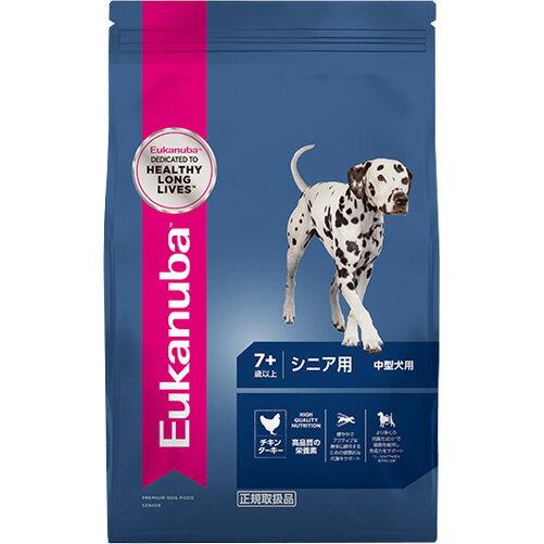【正規品】 ユーカヌバ シニア用 中型犬用 7歳以上 13.5kg