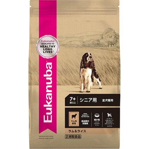 【正規品】 ユーカヌバ ラム&ライス シニア用 全犬種用 7歳以上 7.5kg