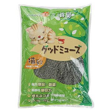 ニチドウ グッドミューズ 猫砂 3.9kg