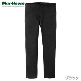 あす楽 チノパン ストレッチパンツ ストレート メンズ メンズファッション ズボン・パンツ 動きやすい 伸縮性 カジュアル 無地 黒 Real Standard(リアルスタンダード) ストレッチ チノパンツ ブラック DW165-MB044-006 定番