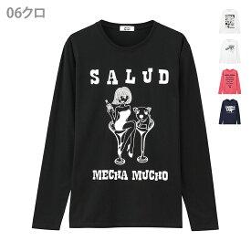 あす楽 【メンズ】T-GRAPHICS(ティーグラフィックス)MECHAMUCHO 長袖TシャツEJ175-MC068
