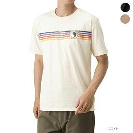 [35%OFF][更にクーポン割1/18マデ]あす楽 半袖Tシャツ メンズ クルーネック サーフ プリント メンズファッション カットソー トップス カジュアル おしゃれ アメカジ ストリート TOWN&COUNTRY タウンアンドカントリー チェストボーダーロゴDM6097 夏服 夏物