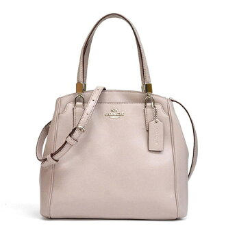 Coach /COACH cross-grain leather Minetta cross body 2-way shoulder bag outlet F34663 SVC2J (grave Chi)