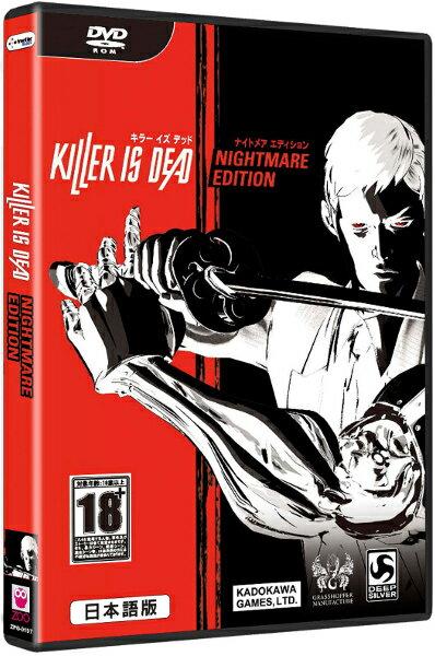 在庫あり[100円便OK]【新品】【PC】KILLER IS DEAD NIGHTMARE EDITION (キラー イズ デッド ナイトメア エディション) 日本語版 Win DVD-ROM【RCP】