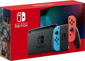 【即納可能】【新品】<新モデル>Nintendo Switch Joy-con(L)ネオンブルー/(R)ネオンレッド【スイッチ本体】【あす楽対応】【RCP】★ご注意:本商品を含むご注文は【1台あたり送料3800円〜】となります&カード決済でエラーとなった場合は即キャンセルいたします★