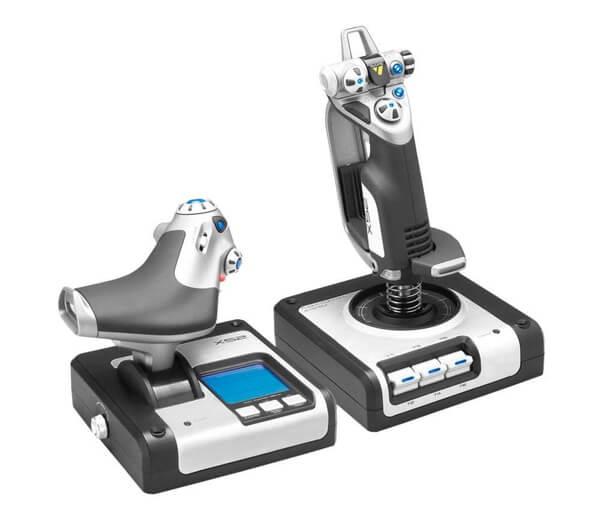 ☆【即納可能】【新品】【PC】ロジクール X52 HOTAS スロットル & スティックシミュレーションコントローラ【あす楽対応】【送料無料※沖縄除く】【smtb-u】【RCP】Logicool G-X52