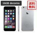 【即納可能】docomo iPhone6 16GB スペースグレイ A1586 白ロム【中古】【美品】【動作確認済】【あす楽対応】【送料無料】【smtb-u】…