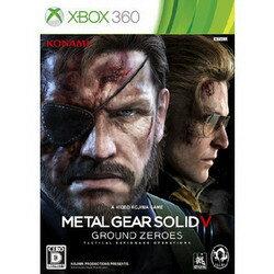 [100円便OK]【新品】【Xbox360】METAL GEAR SOLID V:GROUND ZEROES【RCP】