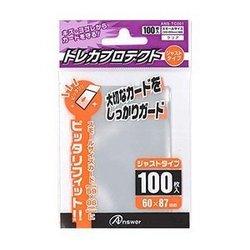 [100円便OK]【新品】【TTAC】SC用トレカプロテクト ジャストタイプ(クリア)100枚入り【RCP】