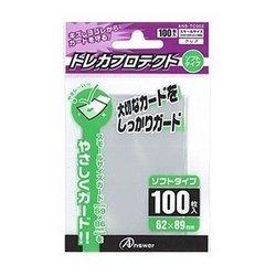 [100円便OK]【新品】【TTAC】SC用トレカプロテクト ソフトタイプ(クリア)100枚入り【RCP】