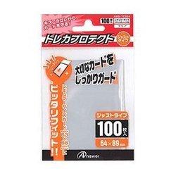 [100円便OK]【新品】【TTAC】RC用トレカプロテクト ジャストタイプ(クリア)100枚入り【RCP】