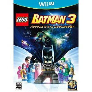 [100円便OK]【新品】【WiiU】LEGO バットマン3 ザ・ゲーム ゴッサムから宇宙へ【RCP】