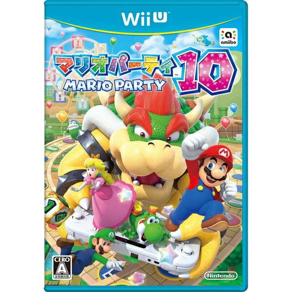 在庫あり☆[100円便OK]【新品】【WiiU】マリオパーティ10【RCP】