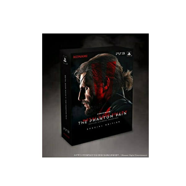 【新品】【PS3】【限】METAL GEAR SOLID V:THE PHANTOM PAIN SPECIAL EDITION【RCP】[お取寄せ品]