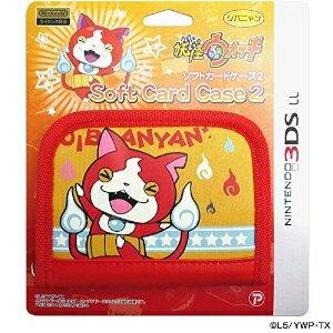 【新品】3DSLL用 妖怪ウォッチ ソフトカードケース2 ジバニャンVer.【RCP】