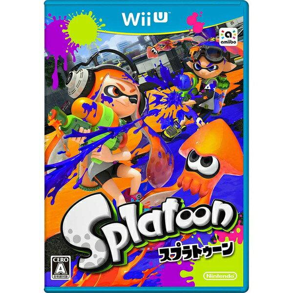 [100円便OK]【新品】【WiiU】Splatoon(スプラトゥーン)【RCP】